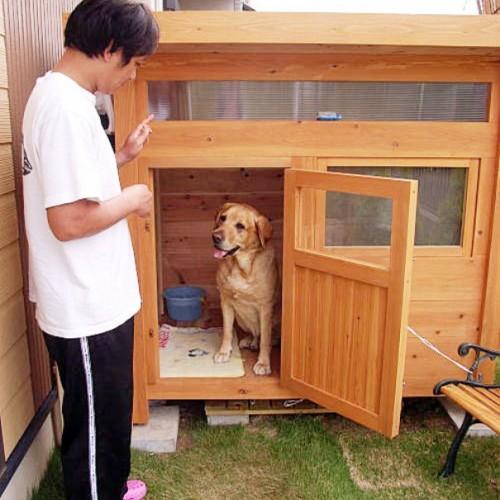 ゴールデンレトリバーの犬小屋