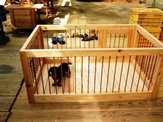 室内用サークル - 犬小屋製作工房Kの犬小屋ブログ ホーム 犬小屋 猫 鶏小屋 屋外 室内 ケー