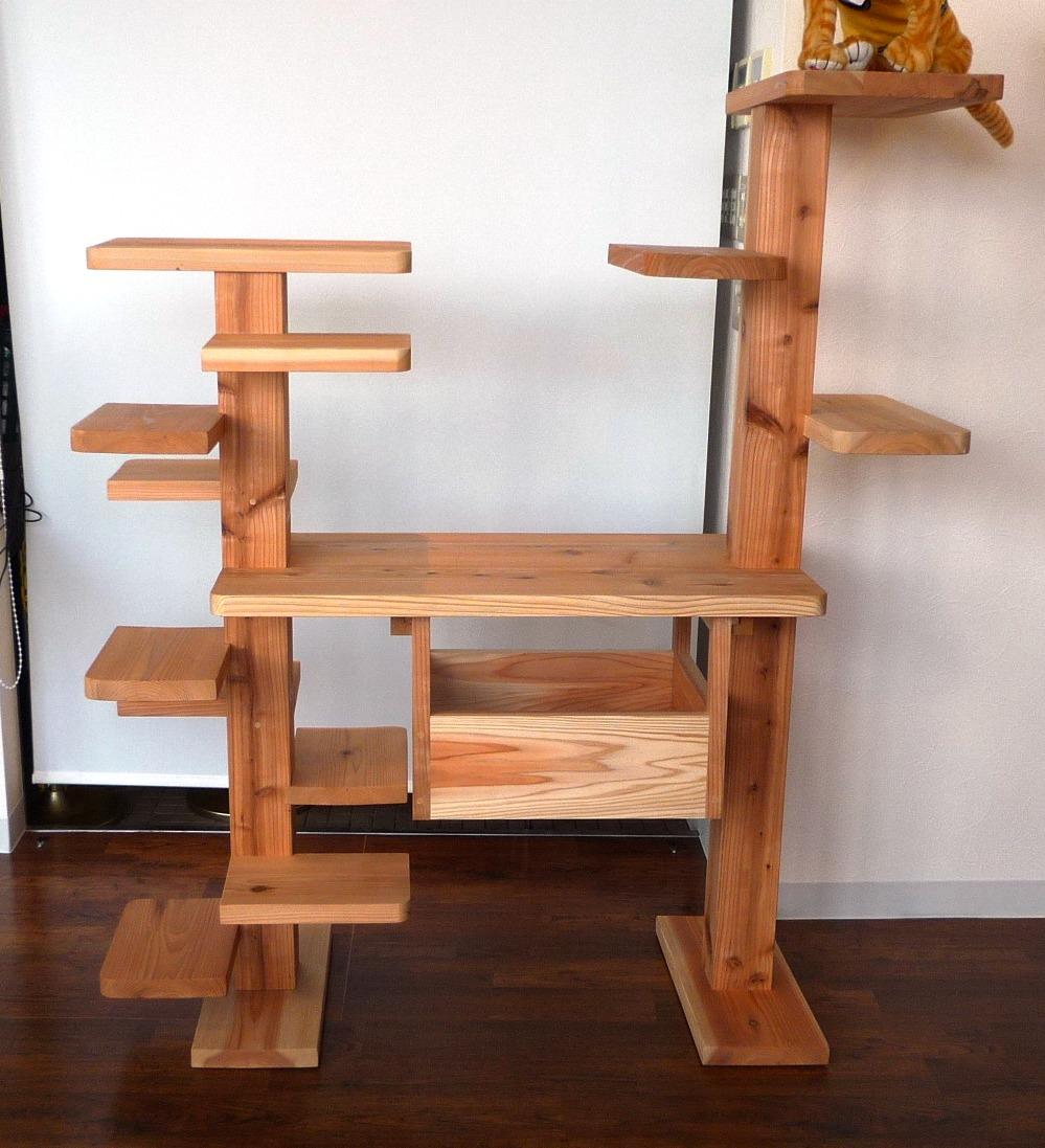 手作りキャットタワー - 犬小屋製作工房Kの犬小屋ブログ ホーム 犬小屋 猫 鶏小屋 屋外 室内