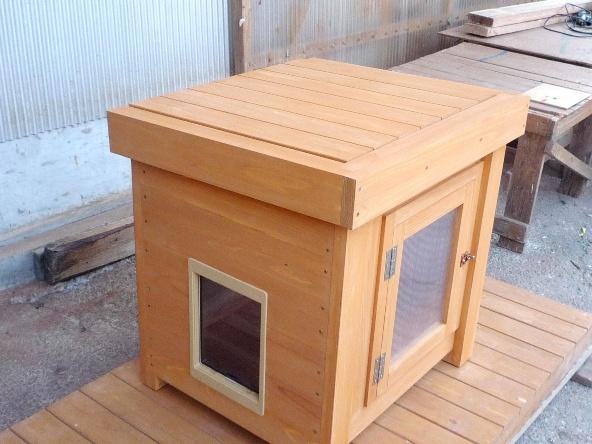 オリジナル猫ハウス - 犬小屋製作工房Kの犬小屋ブログ ホーム 犬小屋 猫 鶏小屋 屋外 室内