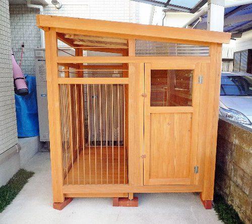シェパードの犬小屋