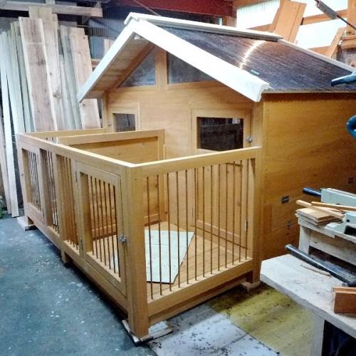 小型犬 屋外ハウス