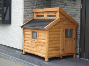 家のデザインに合う犬小屋