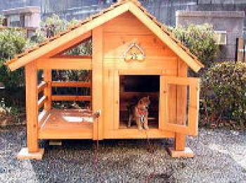 ゴロウ君の犬小屋